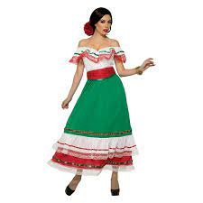 Mexican Dress Women's Costume Mexico ...