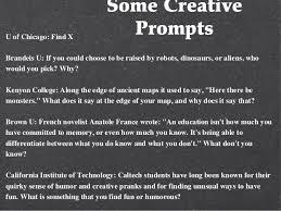 college essay copy 12 some creative promptsu of chicago x