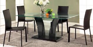 Modern Glass Dining Table Dining Room Traditional Dining Table Glass Design Glass Dining