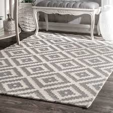 gray area rugs incredible obadiah hand woven wool rug reviews birch lane regarding 6