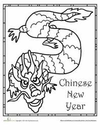 Small Picture chinese dragon coloring pages for kids Chinese children animals