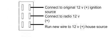pioneer radio run on shore power irv2 forums now add a new wire from house battery source to the radio the original wire should have a fuse add a fuse in line you add to the house battery