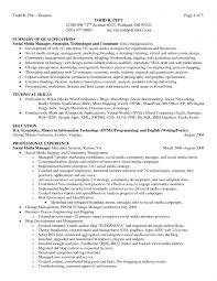 Qualification Summary Resume Inspiration Resume Templates Qualifications For Summary Of Sample Marvelous