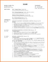 8 Mechanical Engineer Resume Sample Pdf Professional List Template