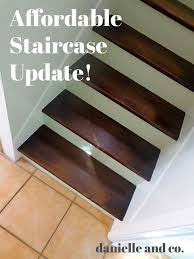 an affordable staircase update check out the before afters house renovation that is