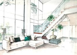 interior design drawings. Beautiful Interior Design Drawings Perspective Pictures . I