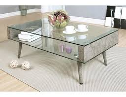 concrete coffee table concrete look round coffee table