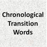Chronological Words Chronological Transition Words Tutorial Sophia Learning