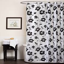 black and white shower curtains. Black White Shower Curtain In And Curtains