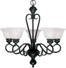 devonshire matte black chandelier alabaster glass 26 wx24 h