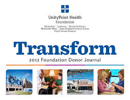 2012 Foundation Donor Journal