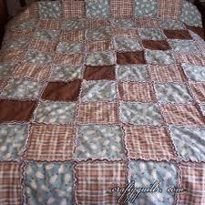 Crafty Quilt Portfolio - Large Quilts - Flannel Snowman Rag Quilt &  Adamdwight.com