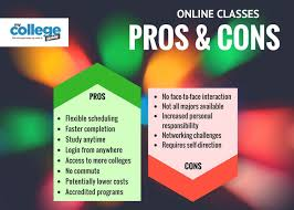 online classes vs traditional classes pros and cons online classes pros and cons