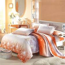 orange and white bedding lofty design orange and white comforter set plaids bedding cotton bed clothes