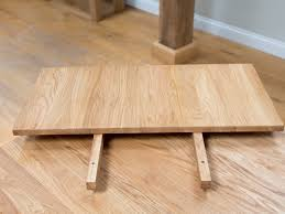 table end extension for small cm minsk solid oak tables