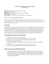 Perfect Ideas Of Sample Resume For Lvn Infact Holdings