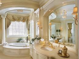 luxery bathrooms. Marveoulus Furniture Desaign In Classic Luxury Bathrooms With Great Pillar And Preety Curtain Luxery