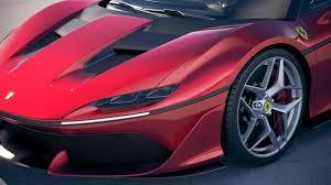 2018 ferrari j50. contemporary j50 2 ferrari j50 2017 royaltyfree 3d model  preview no inside 2018 ferrari j50