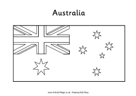 Small Picture Coloring Page For Australian Flag australian flag colouring pages