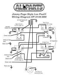 wiring kit for jimmy page les paul allparts com gibson les paul wiring diagram les paul standard wiring diagram