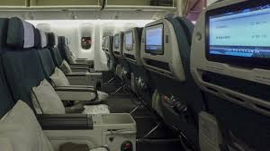 Cathay Pacific Flight 888 Seating Chart Cathay Pacific Updated Premium Economy Boeing 777 300er Vancouver Yvr To New York Jfk