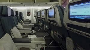cathay pacific updated premium economy boeing 777 300er vancouver yvr to new york jfk