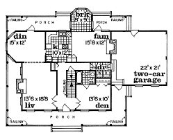 cornfeld traditional farmhouse plan 062d 0042 house plans and more