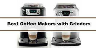 The carafe is made of glass and can store the brewed coffee for 10 cups maximally. Best Coffee Makers With Grinder Reviews 2020