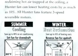 ceiling fan direction in summer with air conditioning ceiling fan direction for cooling ceiling fan for