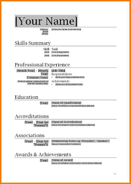 Resumes Templates Word 24 Basic Resume Templates Word Professional Resume List 23