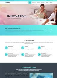 Website Template Stunning Free Agency Website Templates Built On HTML28CSS28 WebThemez