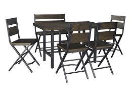 set of 4 bar stools. Signature Design By Ashley Kavara6-Piece Counter Table \u0026 Double Bar Stool Set Of 4 Stools