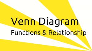 Venn Diagram Of Relationships What Is Venn Diagram Set Function Relationship Venn Diagram Ca Cpt Cs Cma Class 11