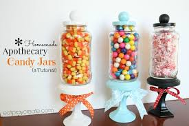 Decorative Glass Candy Jars DIY Apothecary Candy Jar Decoration a Tutorial Eat Pray Create 43