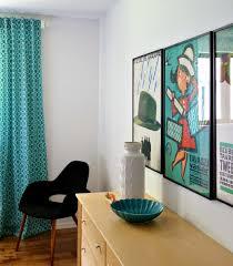 DIY Modern Curtains  Crafthubs - Modern retro bedroom