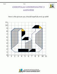 Math Grids Worksheets Gcse Maths Coordinates Coordinate That Make