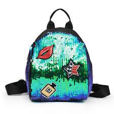 <b>2019</b> Mermaid <b>Sequins Handbag Portable</b> Storage <b>Bags</b> Female ...