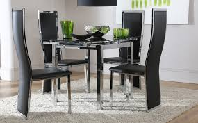 glass dining table sets 4 full size of large size of medium size with regard to