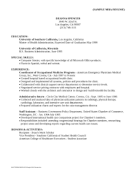 Sample Resume Objective Examples Examples Of Resumes