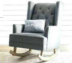 leather glider for nursery target rocking chair furniture front porch rockers gray rocker recliner metal outdoor