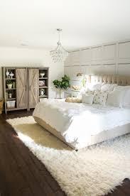 White master bedroom Light Blue White Bedroom Makeover Barn Door Storage Cabinet Home Stories To White Master Bedroom Makeover