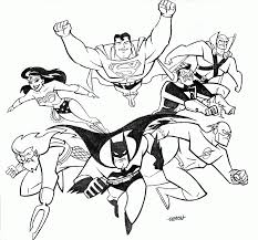 Small Picture Dc Super Friends Coloring Pages Coloring Home