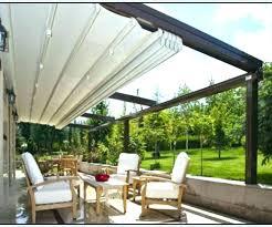 A Deck Awning Ideas Backyard  Patio Designs