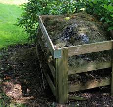 put your used coffee grounds in the compost pile