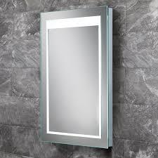 HIB Liberty LED Steam Free Bathroom Mirror 400 x 600mm