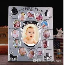 My First Year Baby Gift Kids Birthday Gift Home Family Decoration