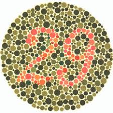 Colour Blindness Chart Ishiharas Test For Colour Deficiency 38 Plates Edition