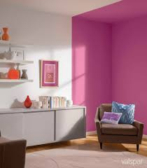 Purple Feature Wall Bedroom We Love Valspars Beet Beat Perfect For This Feature Wall