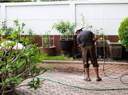 remove stains from a driveway patio