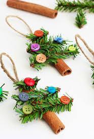 38 Handmade Christmas Ornaments - DIY Cinnamon Stick Christmas Tree  Ornaments